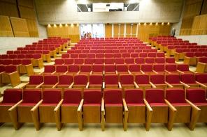 Auditório István Iancsó (interior).