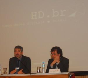 23/10.Pedro Puntoni e José Murilo Jr., Mesa de Abertura. Foto: Jorge Viana.