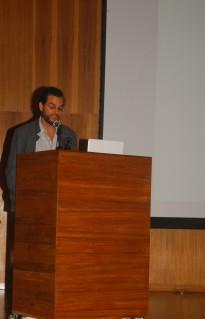23/10. Luís Filipe Silvério Lima, Mesa das Bibliotecas. Foto: Jorge Viana.