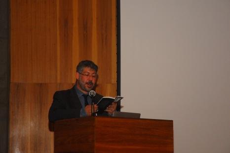 23/10. Pedro Puntoni, Mesa das Bibliotecas. Foto: Jorge Viana.