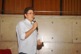 23/10. Patrício Nunes, Mesa das Bibliotecas (debates). Foto: Jorge Viana.