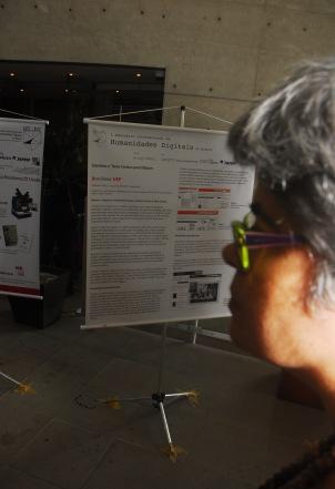 24/10. Dália Guerreiro, Sessão de Posteres. Foto: Jorge Viana.
