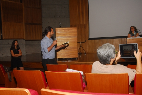 24/10. Luis Filipe Silverio Lima, Mesa dos Historiadores (debates). Foto: Jorge Viana.