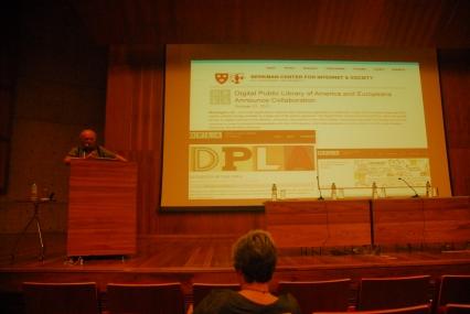 25/10. Dov Winer, Conferência. Foto: Jorge Viana.