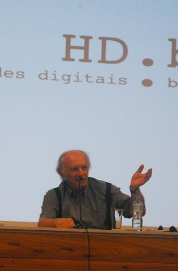 25/10. Dov Winer, Conferência (debates). Foto: Jorge Viana.