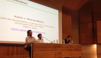 23/10. Luís Filipe Silvério Lima, Henrique Parra, Karim Gherab Martín, Sessão de Debates. Foto: Dália Guerreiro.