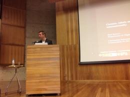 24/10. Paul Spence, Conferência. Foto: Dália Guerreiro.