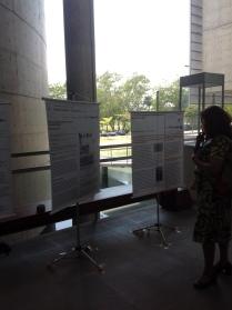 24/10. Sessão de Pôsteres. Foto: Dália Guerreiro.