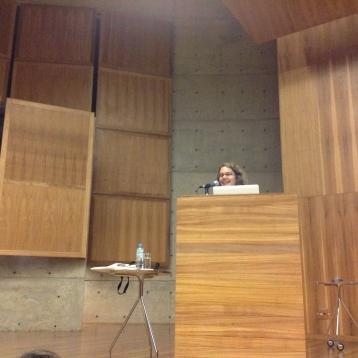 24/10. Íris Kantor, Mesa dos Historiadores. Foto: Dália Guerreiro.