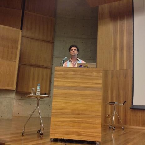 24/10. Cícero Inácio da Silva, Sessão de Debates. Foto: Dália Guerreiro.