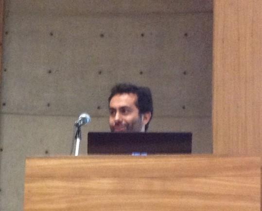 25/10. Luiz Veronesi, Sessão de Projetos. Foto: Dália Guerreiro.