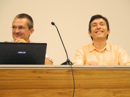 24/10. Daniel Alves e Luís Ferla. Foto: Elena Lobardo.